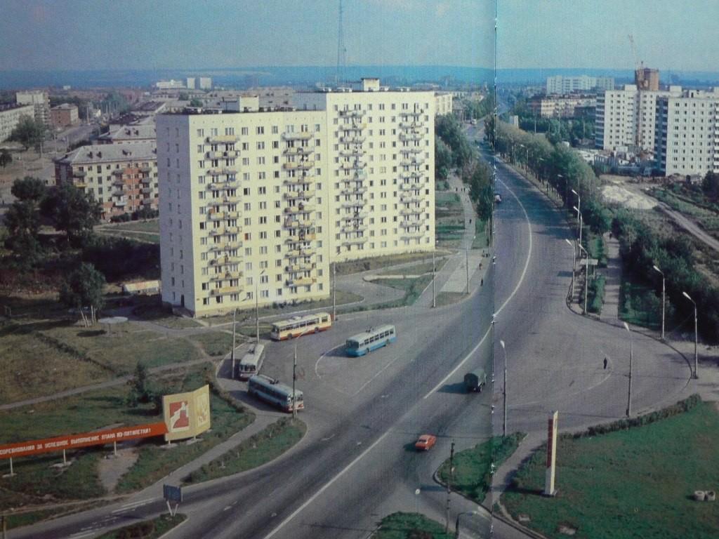 Фото старых троллейбусов города Владимира 08