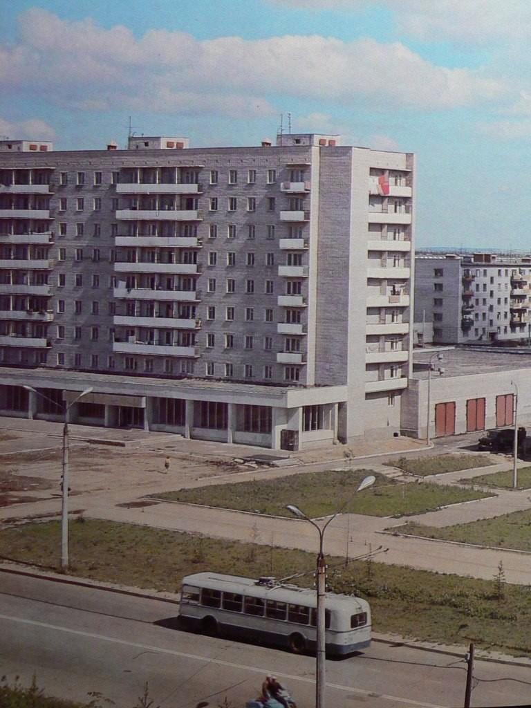 Фото старых троллейбусов города Владимира 09