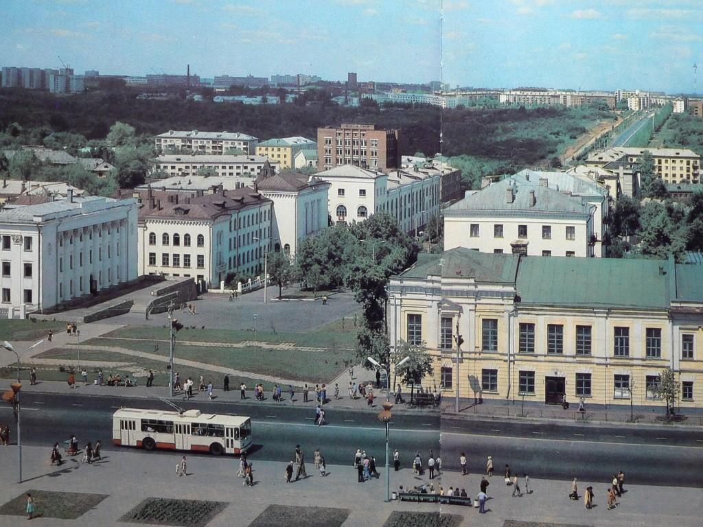 Фото старых троллейбусов города Владимира 10