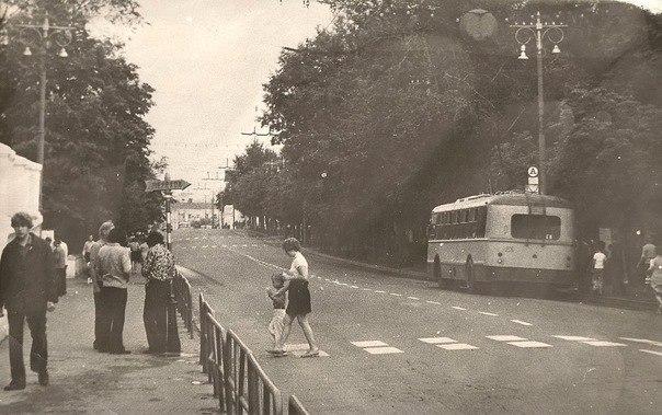 Фото старых троллейбусов города Владимира 101