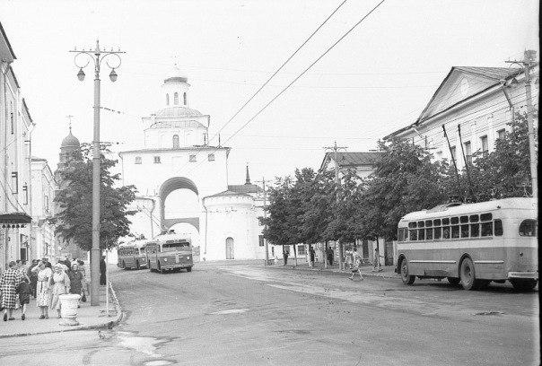 Фото старых троллейбусов города Владимира 103