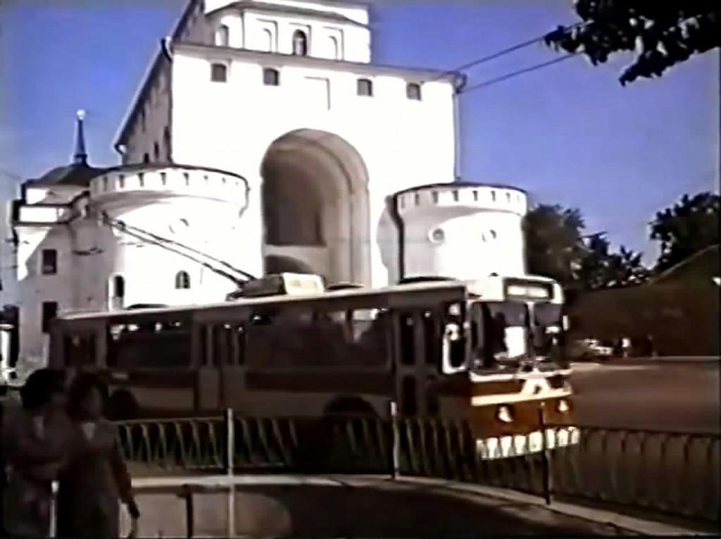 Фото старых троллейбусов города Владимира 104
