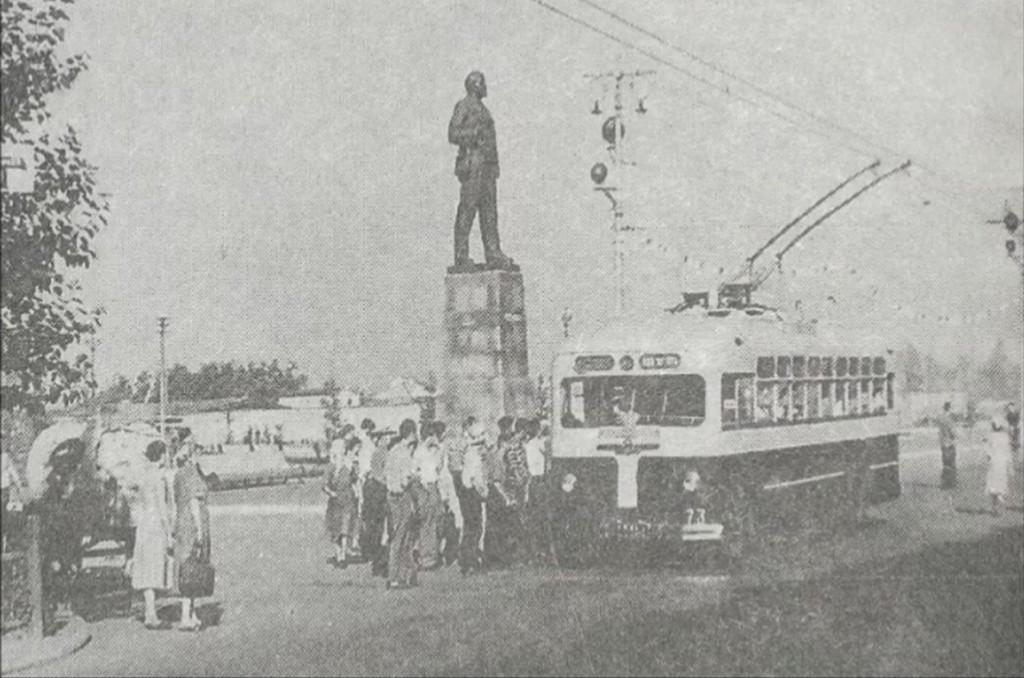 Фото старых троллейбусов города Владимира 109