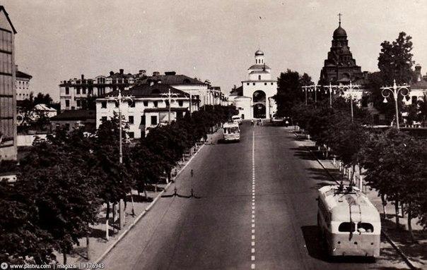 Фото старых троллейбусов города Владимира 114