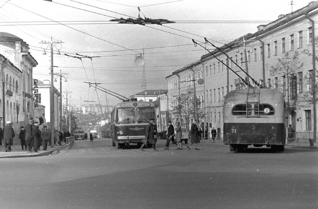 Фото старых троллейбусов города Владимира 116