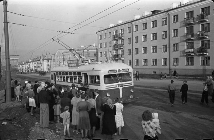 Фото старых троллейбусов города Владимира 119