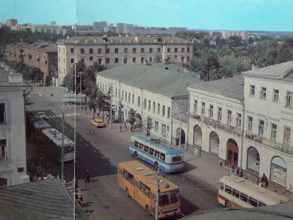 Фото старых троллейбусов города Владимира 12