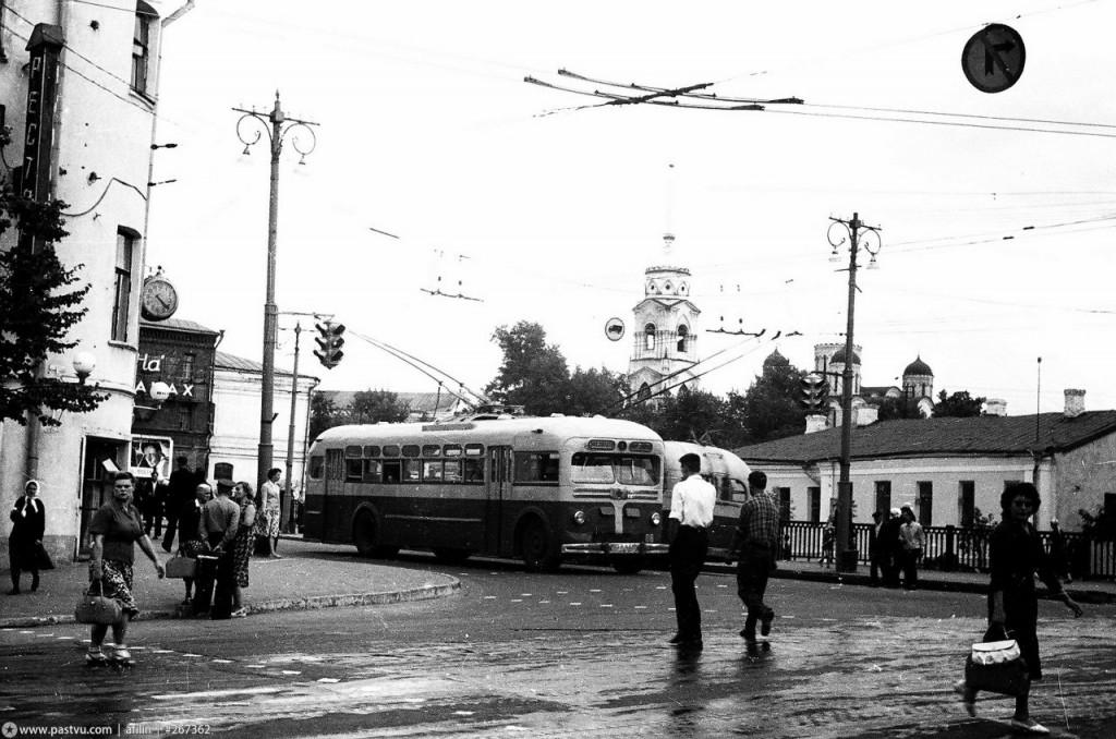 Фото старых троллейбусов города Владимира 126