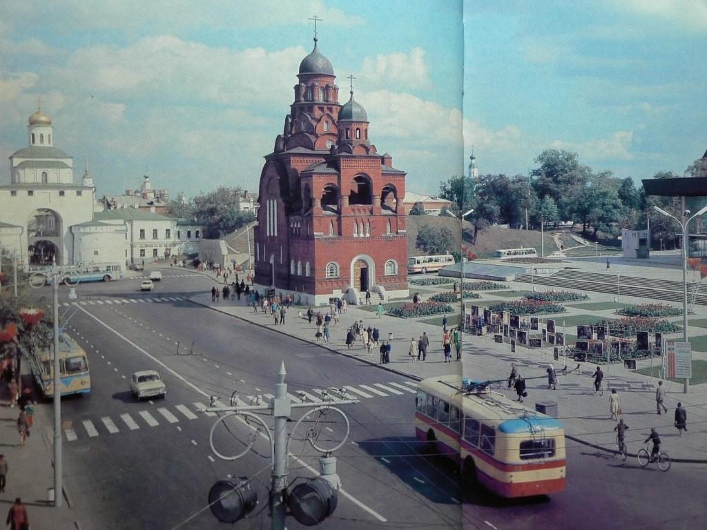 Фото старых троллейбусов города Владимира 13
