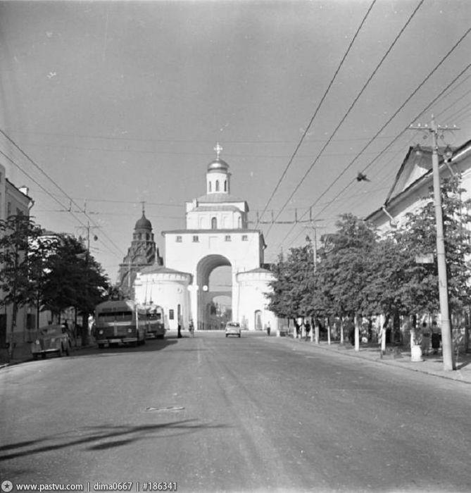 Фото старых троллейбусов города Владимира 132