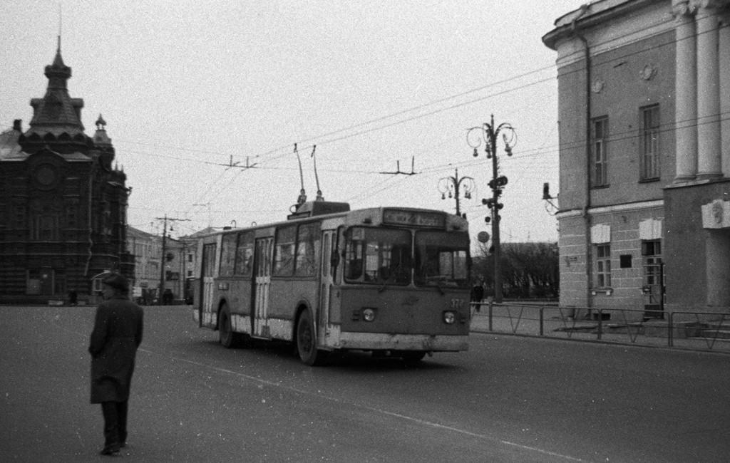 Фото старых троллейбусов города Владимира 139