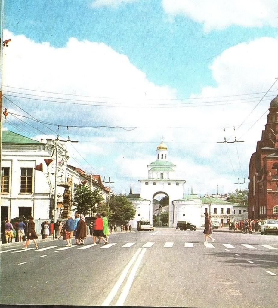 Фото старых троллейбусов города Владимира 14