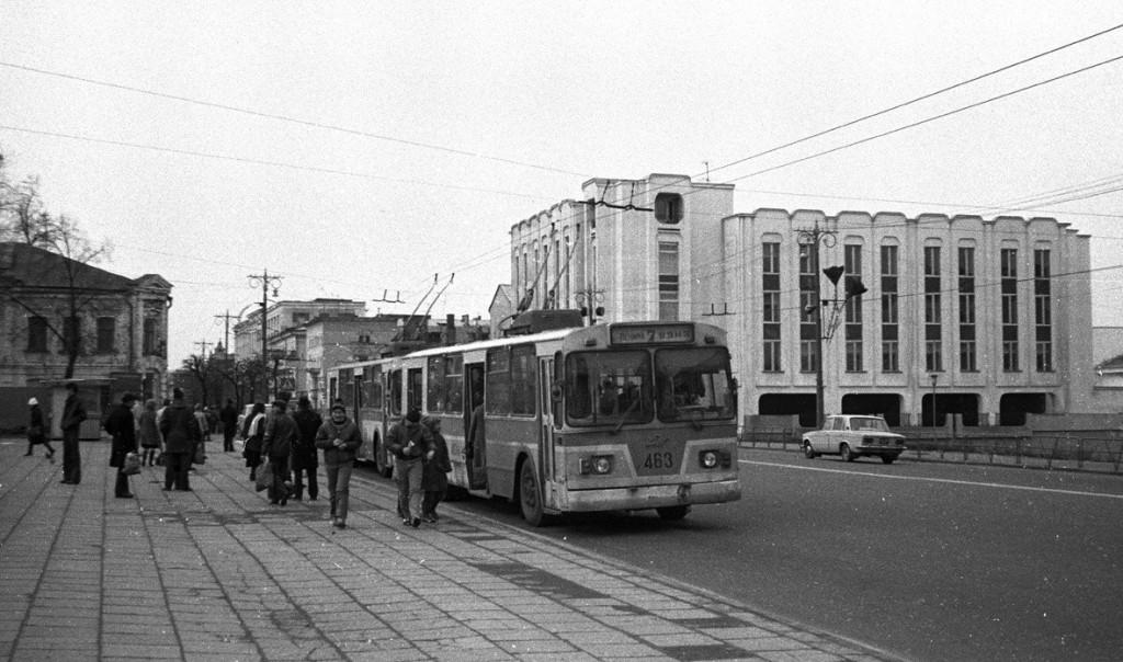 Фото старых троллейбусов города Владимира 141