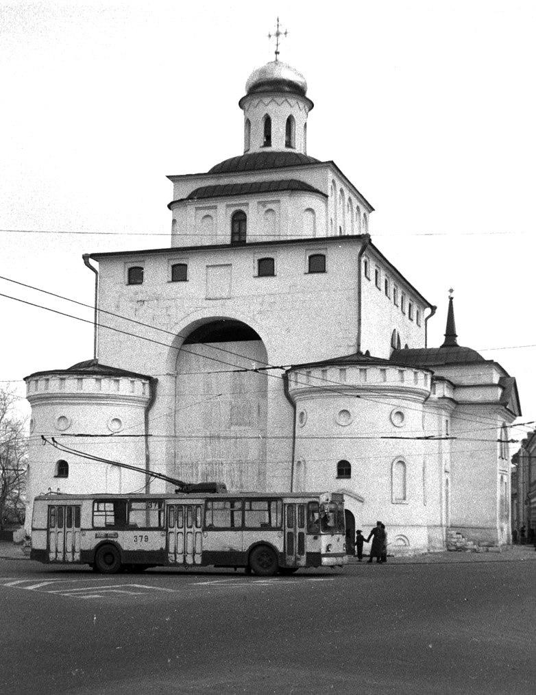 Фото старых троллейбусов города Владимира 143