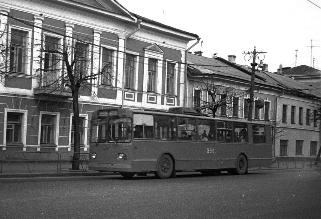 Фото старых троллейбусов города Владимира 144