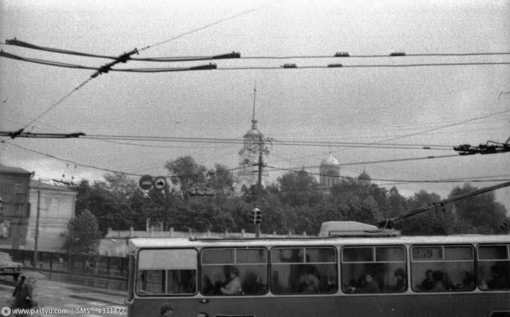Фото старых троллейбусов города Владимира 146