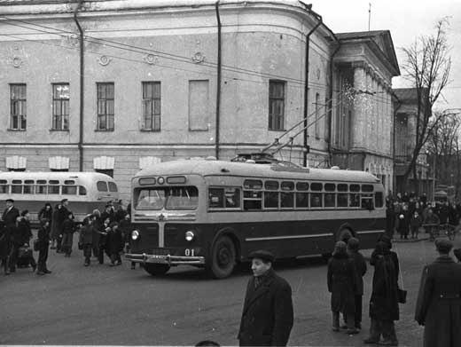 Фото старых троллейбусов города Владимира 17