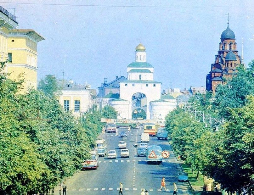 Фото старых троллейбусов города Владимира 180