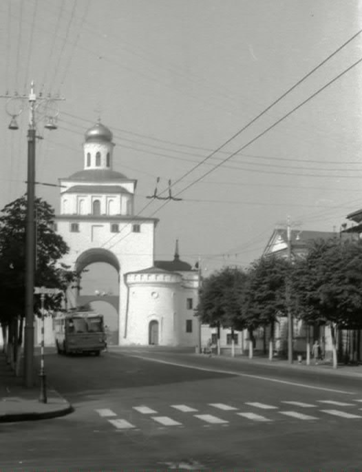 Фото старых троллейбусов города Владимира 182
