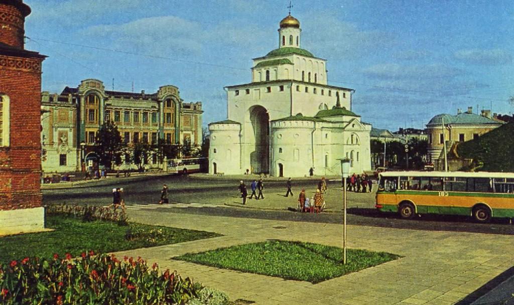 Фото старых троллейбусов города Владимира 185