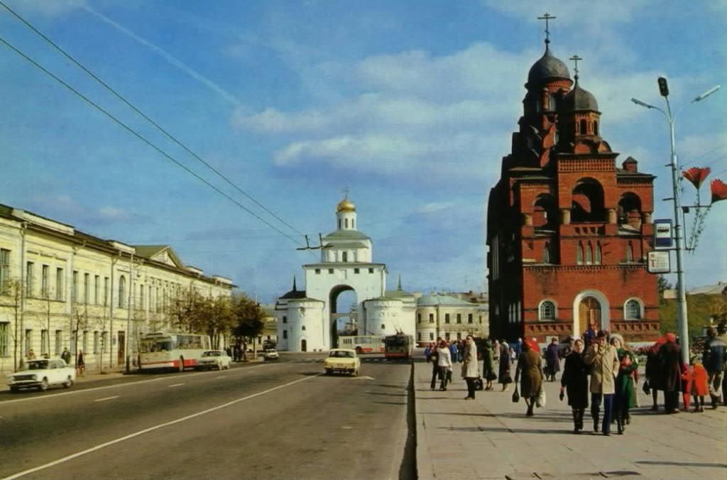 Фото старых троллейбусов города Владимира 186