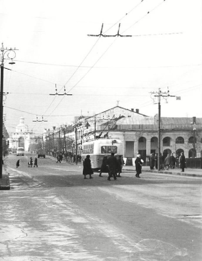 Фото старых троллейбусов города Владимира 187