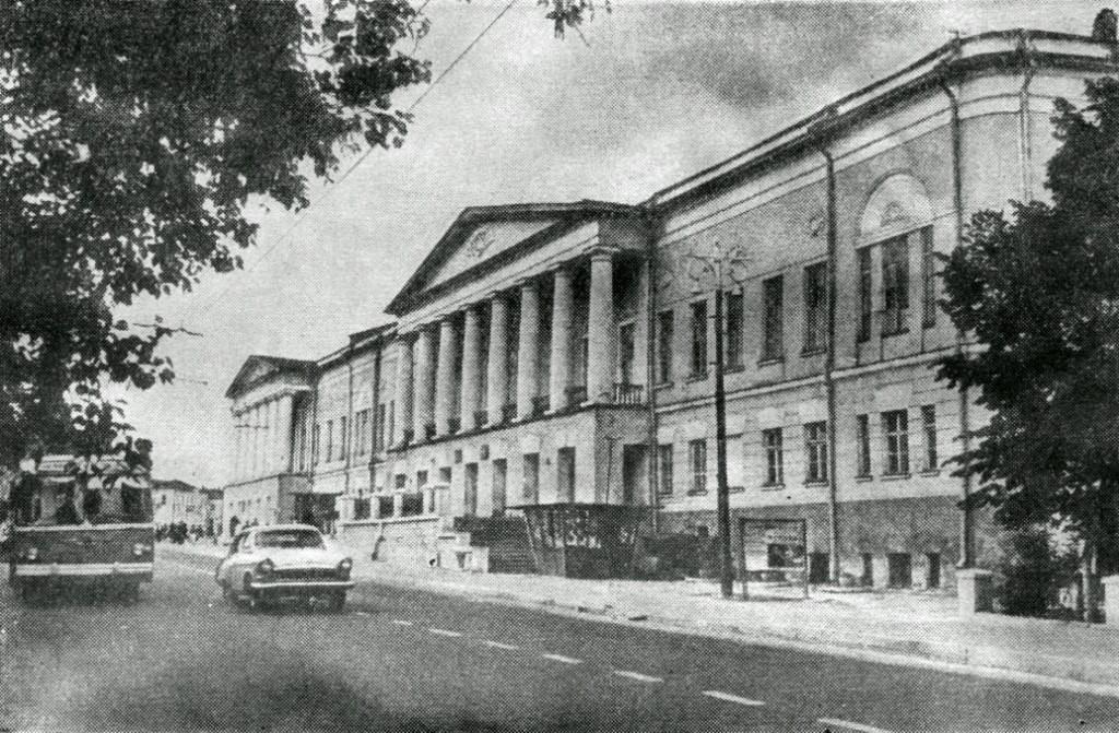 Фото старых троллейбусов города Владимира 192