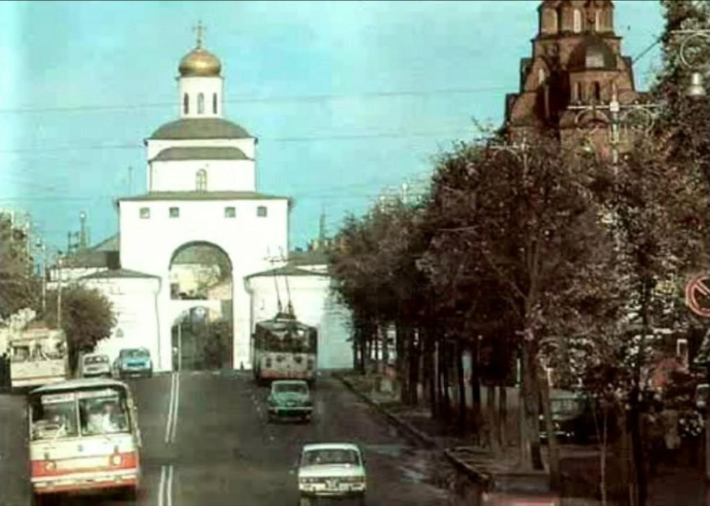 Фото старых троллейбусов города Владимира 195