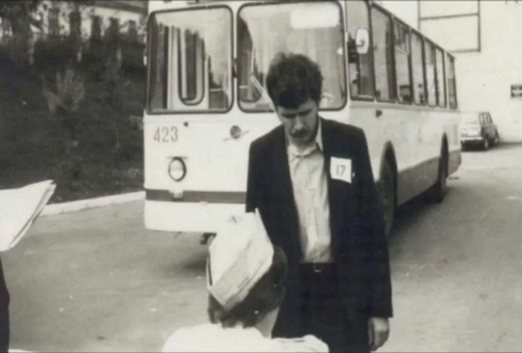 Фото старых троллейбусов города Владимира 197