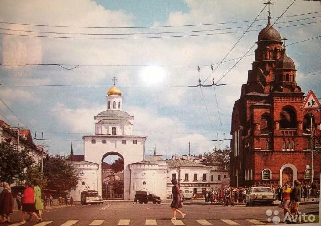 Фото старых троллейбусов города Владимира 199