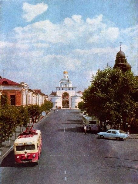 Фото старых троллейбусов города Владимира 20