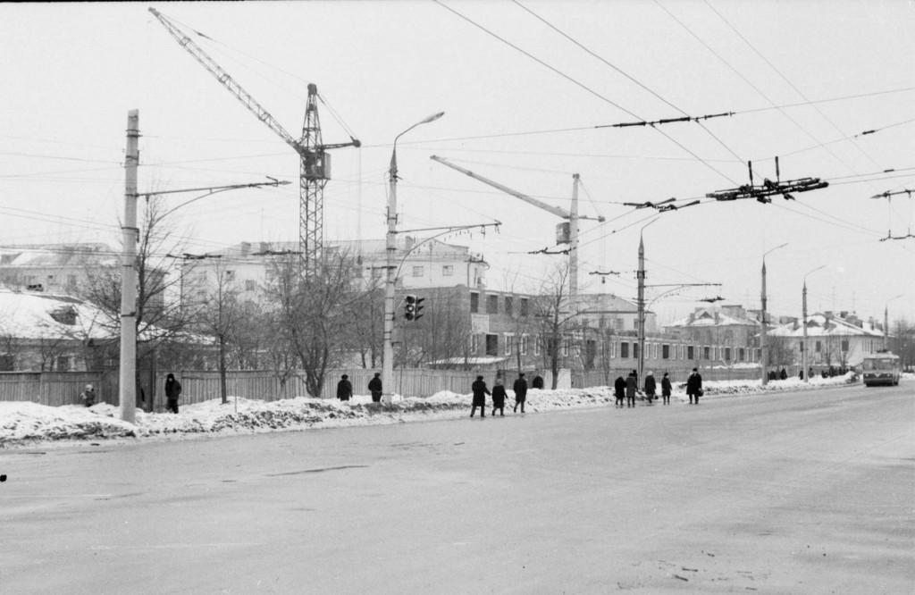 Фото старых троллейбусов города Владимира 206
