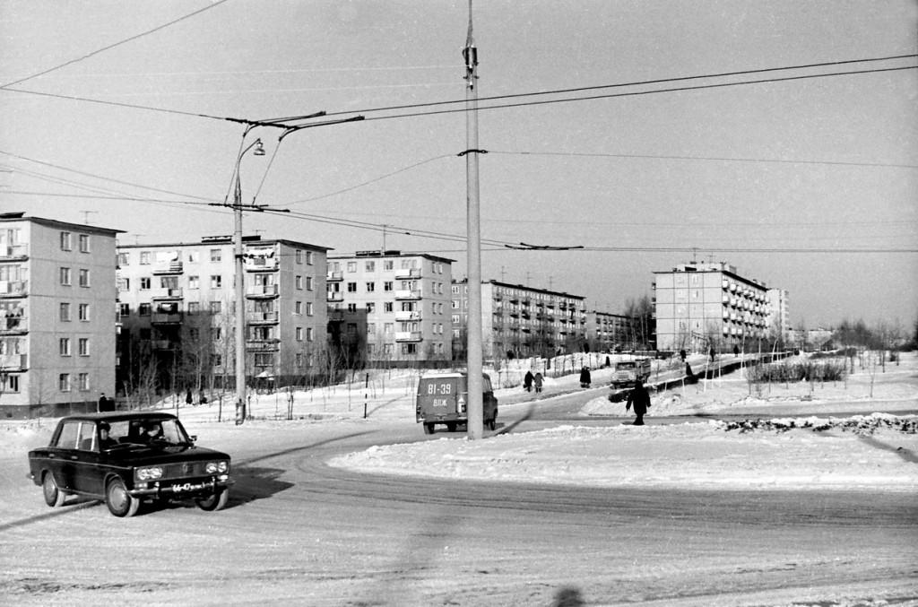 Фото старых троллейбусов города Владимира 207