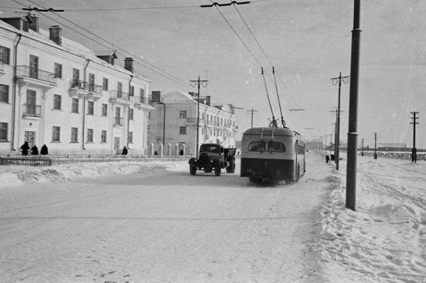 Фото старых троллейбусов города Владимира 21