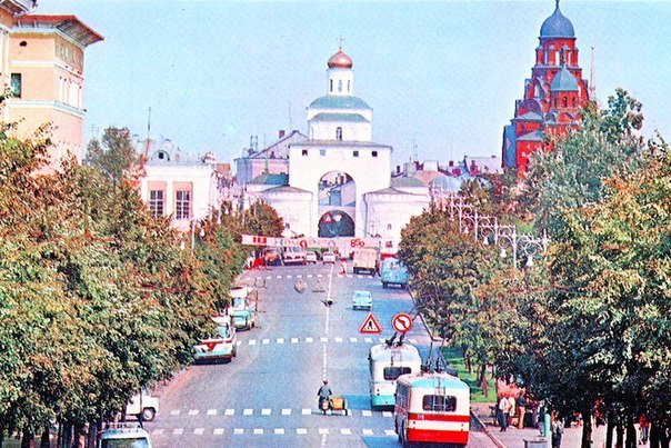 Фото старых троллейбусов города Владимира 25