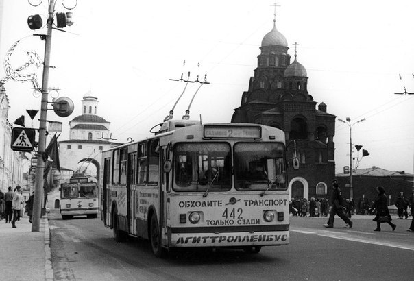 Фото старых троллейбусов города Владимира 26