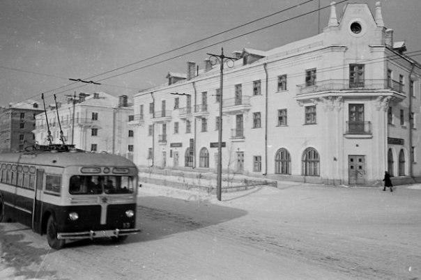 Фото старых троллейбусов города Владимира 30