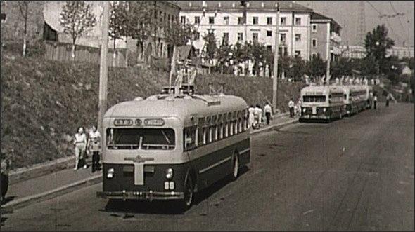 Фото старых троллейбусов города Владимира 35