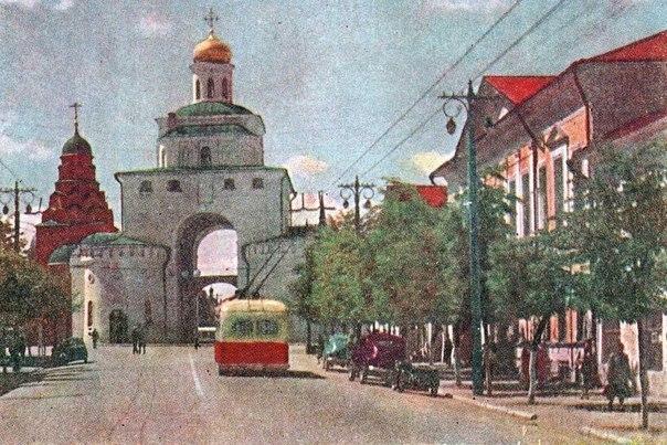 Фото старых троллейбусов города Владимира 40