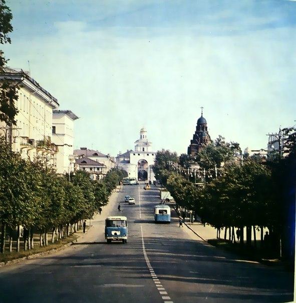 Фото старых троллейбусов города Владимира 41