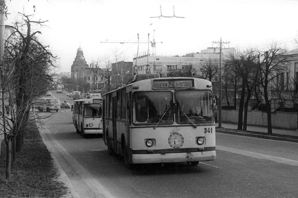 Фото старых троллейбусов города Владимира 43