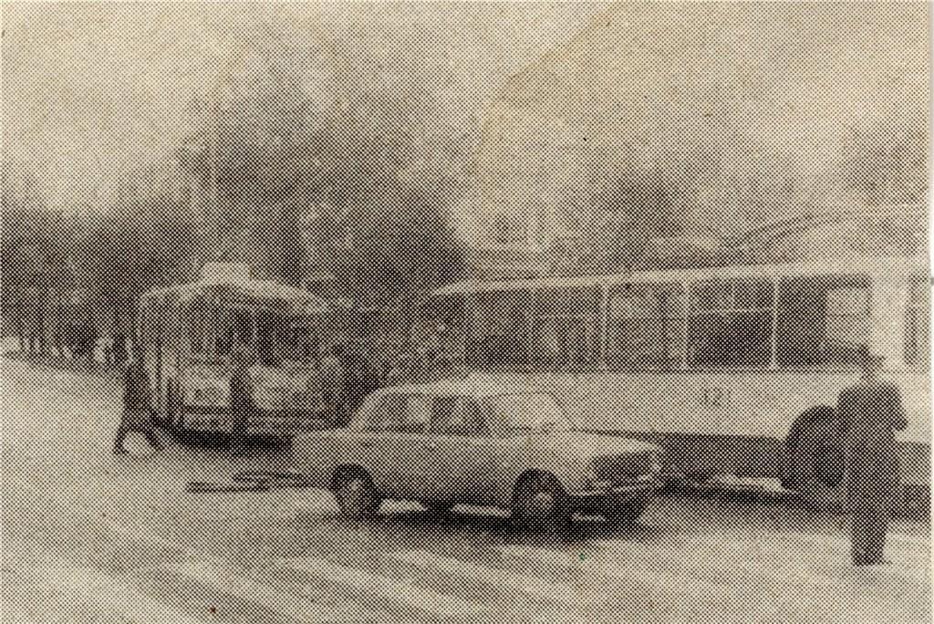 Фото старых троллейбусов города Владимира 45