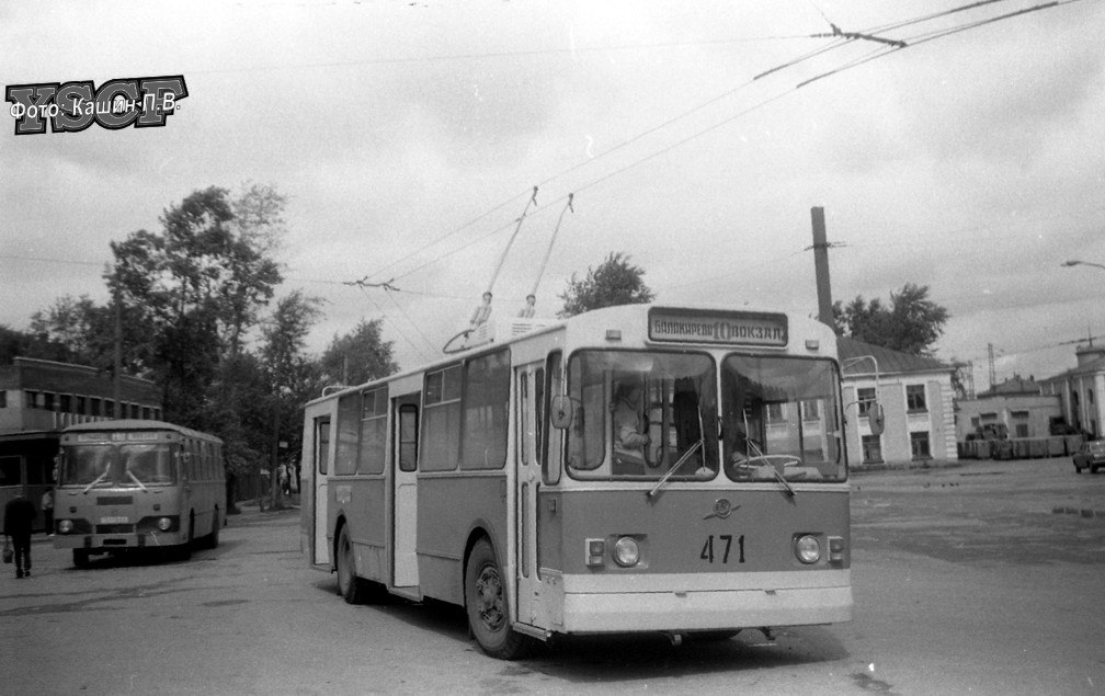 Фото старых троллейбусов города Владимира 46
