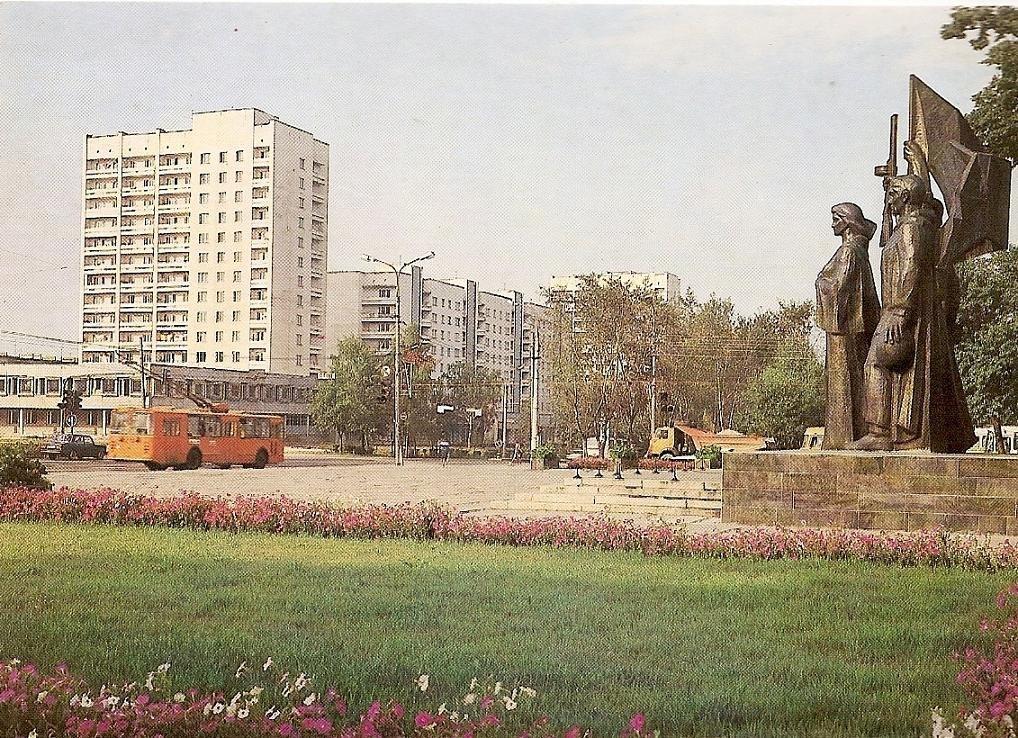 Фото старых троллейбусов города Владимира 47