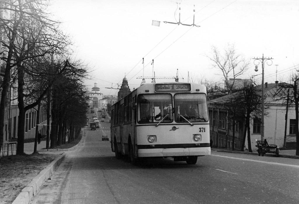 Фото старых троллейбусов города Владимира 50