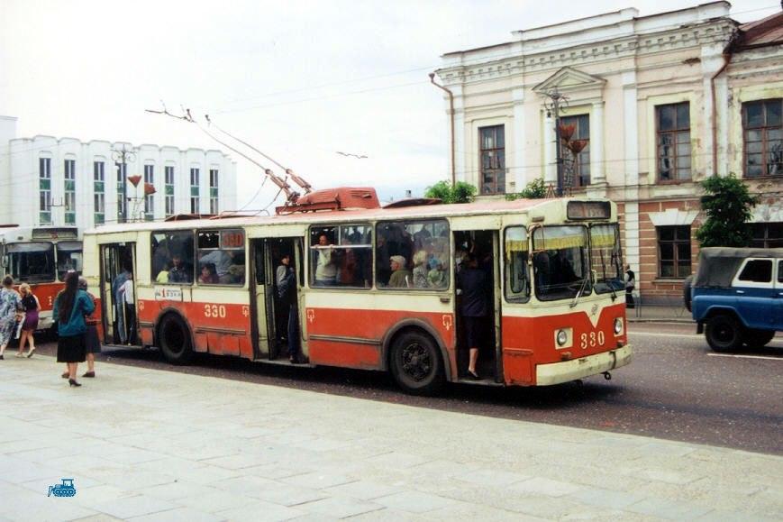 Фото старых троллейбусов города Владимира 51