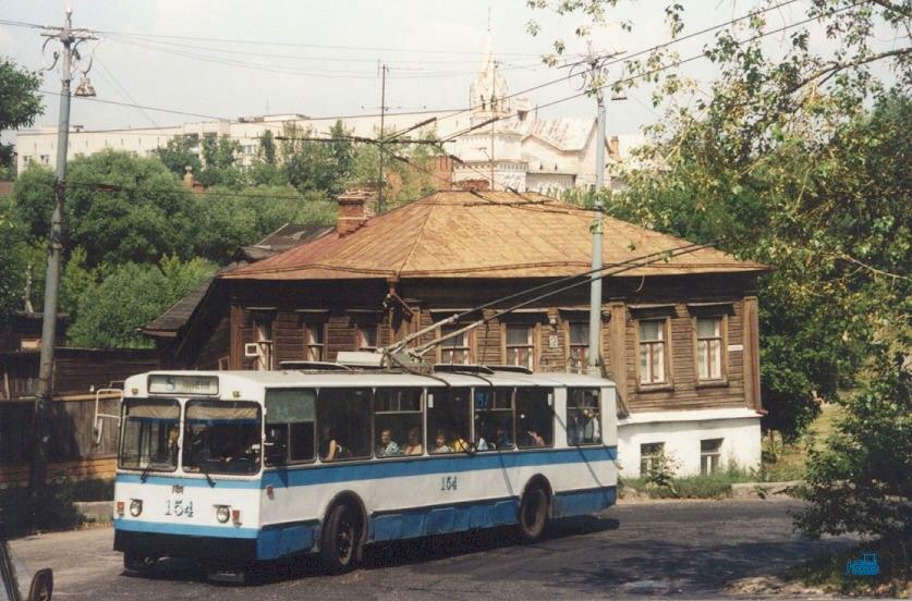 Фото старых троллейбусов города Владимира 52