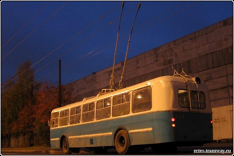 Фото старых троллейбусов города Владимира 53