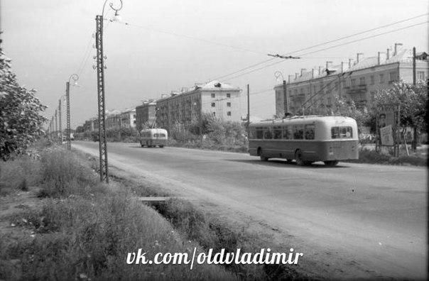 Фото старых троллейбусов города Владимира 54