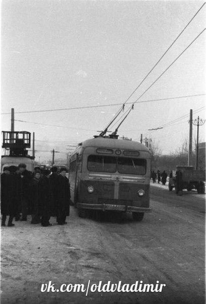 Фото старых троллейбусов города Владимира 55